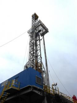 Fracking site in northeast Ohio (WCPN stock photo)
