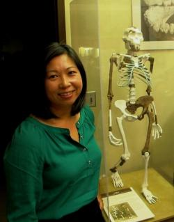 Denis Su, a paleo-ecologist who wants to learn more about Lucy's environment (pic by Brian Bull)
