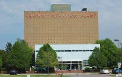 The Crown Water Treatment plant (photo from Clevelandwater.com)