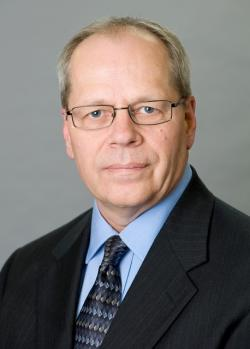 Eric Hauge, General Manager and Vice-President of ArcelorMittal Cleveland (official staff photo)
