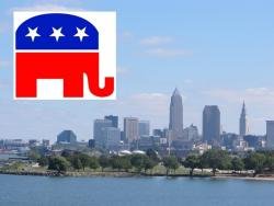 GOP and Cleveland...together in 2016? (City photo by Brian Bull)