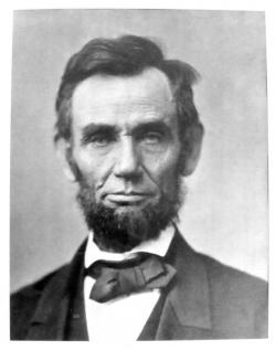 The 'Gettysburg Portrait' was taken by Alexander Gardner just days before the Gettysburg Address. (Courtesy JCU)