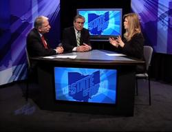 Clark and Shkurti on the show 'The State of Ohio'