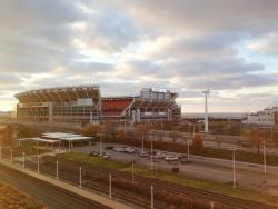 The sin tax helps fund debt and repair payments on Cleveland's stadiums. (Nick Castele / ideastream)