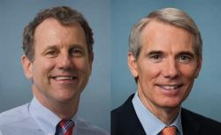 Sen. Sherrod Brown and Sen. Rob Portman (Photo: U.S. Senate)
