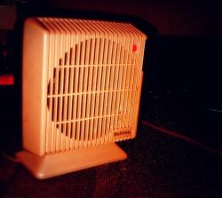 Space heater (WCPN stock photo)