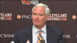 Browns Owner Jimmy Haslam announced a shake-up today in Berea.