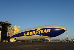 The newest Goodyear Blimp (Photo: Goodyear)