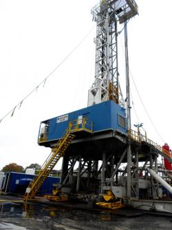 Shale platform in northeast Ohio (pic by Michelle Kanu)