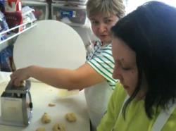 Polish-born Edyta Kuzniar and Marta Dudzinska are the Paczki Pros at Seven Roses Cafe.