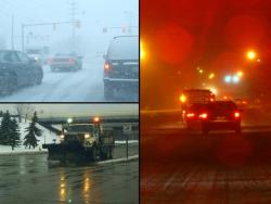 Motorists and road crews dealt with a particularly harsh winter season (photos by Brian Bull)