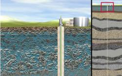 A screenshot of an animation explaining injection wells. (water.EPA.gov)