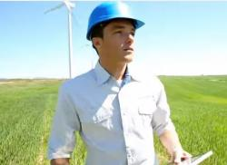 A still image from Advanced Energy Economy Ohio's TV ad.