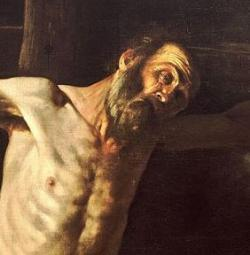 Caravaggio's Crucifixion of St. Andrew is being restored