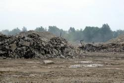 Piles of rubble now dot the area formerly occupied by the Chrysler stamping plant (pic: Brian Bull)