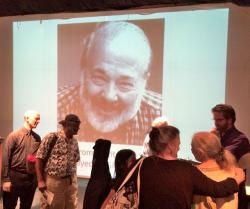 Friends and family surrounded Dorothy Silver to tell 'Reuben stories'