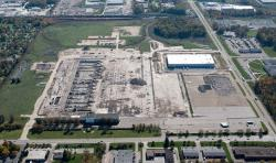 An aerial view of the developing Cornerstone Business Park (pic from terrycoyne.com)