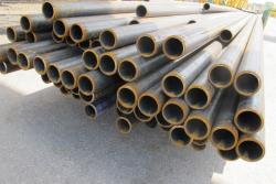 Completed steel tubes - for shale development - wait to be shipped off (pic: Brian Bull)