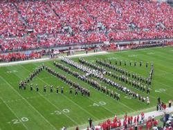 OSU marching band - Flickr.com photo by David Grant