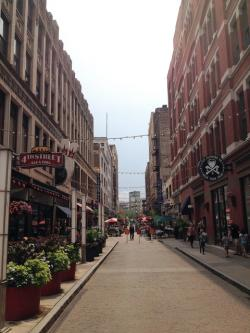 Many residents are drawn to the downtown's walkable attractions, including Historic 4th Street (pic: Brian Bull)
