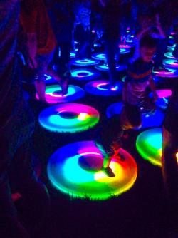 Rainbows pulse beneath your feet (PHOTO: Mike Shafarenko)