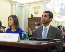 FCC Commissioner Ajit Pai at a 2013 hearing. (Sen. Jay Rockefeller / Flickr - cropped)