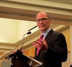 U.S. Secretary of Labor, Thomas Perez (photo by Brian Bull)