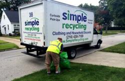 Simple Recycling cuts deals with cities for curbside pick-up of used clothing