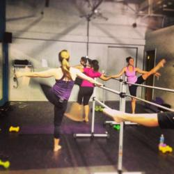 An afternoon Ballet Barre class at Prana Yoga And Dance in Broadview Heights. (Photo by Sarah Jane Tribble)