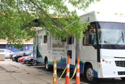 MetroHealth's enrollment van is one of several efforts to enroll the uninsured in health insurance.