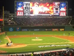 The Cleveland Indians Cruise to Victory in Game 1 2016 World Series - Photo Credit Mike McIntyre