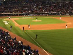 Tribe Tries to Rally in Game 2 of the World Series - Photo Mike McIntyre