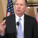 Ohio Gov. John Kasich speaks at a news conference this week.