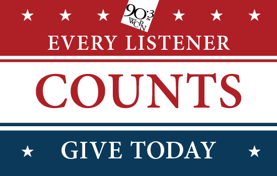 Pledge your support to 90.3 WCPN!