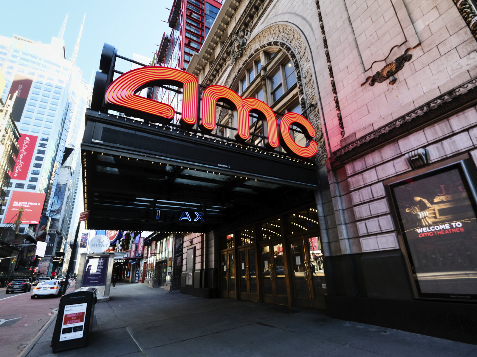 Amc Theatres Will Now Require Guests To Wear Masks When It Reopens Npr News Ideastream