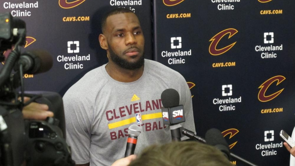 Cleveland and Golden State in NBA Finals Game 3 | ideastream