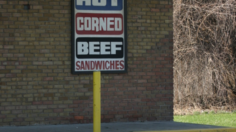 unhealthy options abound in food deserts.