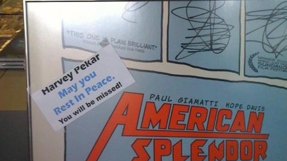 A tribute to Harvey Pekar at Carol and John's Comic Shop in Cleveland