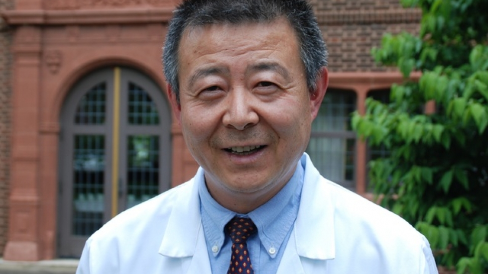 The Cleveland Clinic's Dr. Qingping Yao is working on his accent