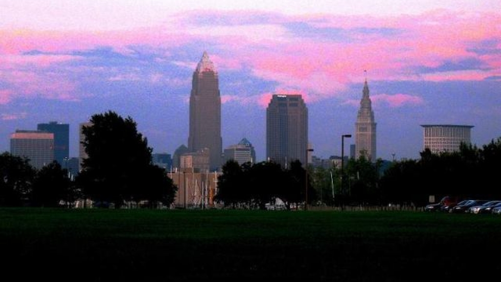 The City of Cleveland, taken from Edgewater Park (pic by Brian Bull)