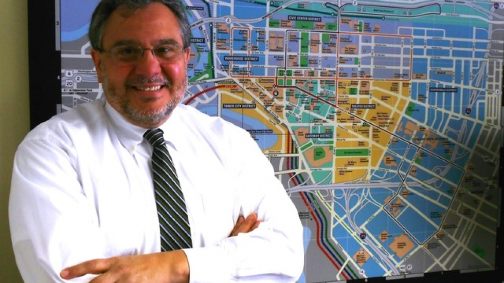 Joe Marinucci, President of the Downtown Cleveland Alliance (pic by Brian Bull)
