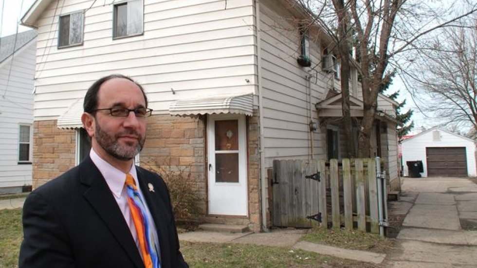 This vacant home in Tony Brancatelli's ward is a candidate for an inexpensive rehab