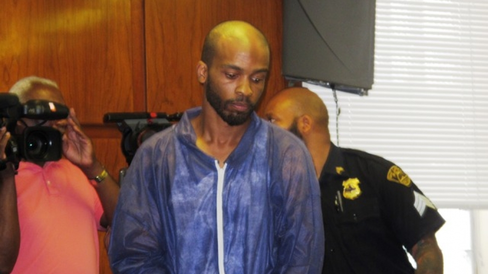 Alleged murderer and kidnapper, Michael Madison (pic by Bill Rice)
