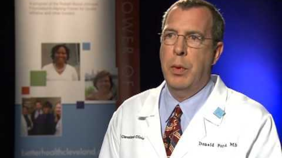 Dr. Donald Ford, family medicine at the Cleveland Clinic