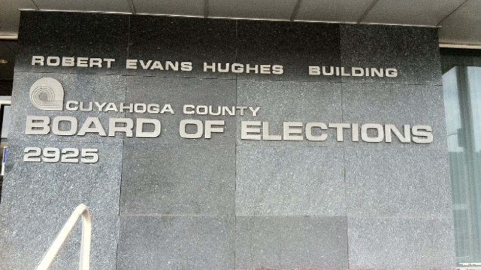 Cuyahoga County Board of Elections (ideastream stock photo)