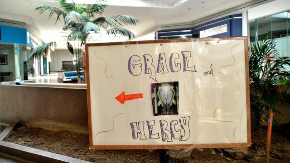 This way to Grace and Mercy