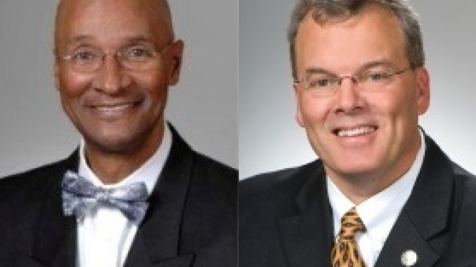 State Reps. Bill Patmon, left, and Tim Derickson (Photo: Ohio House of Representatives)