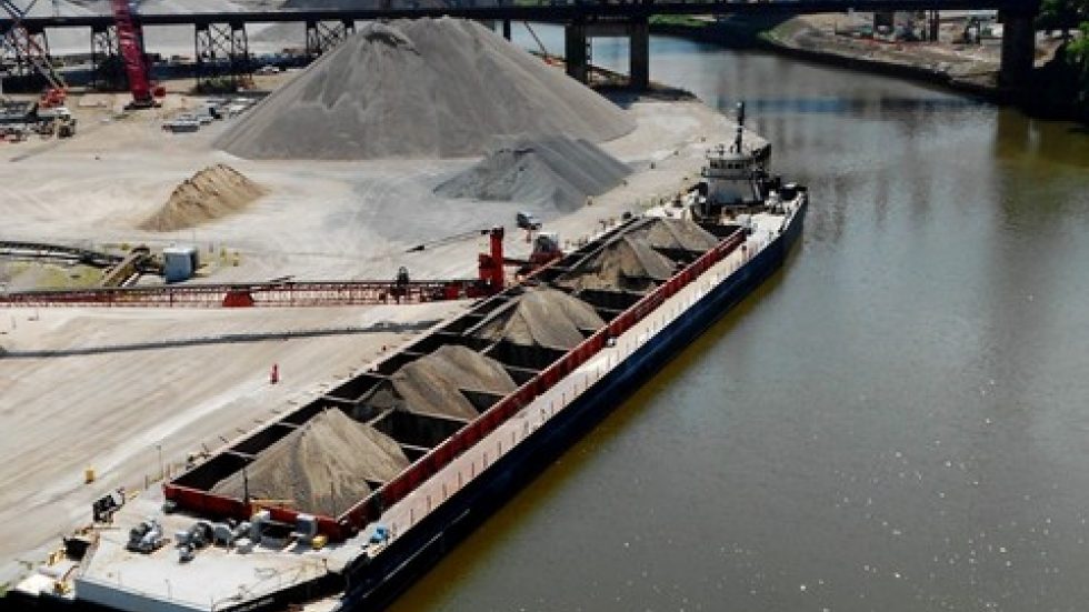 Delays in dredging could hurt commercial shipping. Ideastream stock photo.