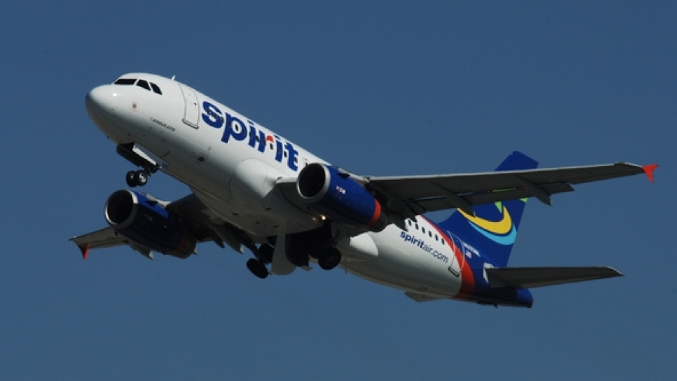 Spirit Airlines flights will take off from Cleveland Hopkins beginning January 15, 2015.