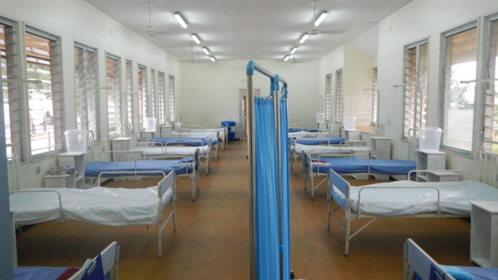 Ebola ward photo by CDC Global.